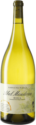 51,95 € Free Shipping | White wine Abel Mendoza D.O.Ca. Rioja Spain Grenache White Magnum Bottle 1,5 L