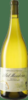 57,95 € Free Shipping | White wine Abel Mendoza D.O.Ca. Rioja Spain Tempranillo White Magnum Bottle 1,5 L