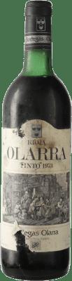 39,95 € Free Shipping | Red wine Olarra D.O.Ca. Rioja Spain Tempranillo, Graciano, Mazuelo Bottle 72 cl