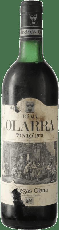 31,95 € Free Shipping | Red wine Olarra D.O.Ca. Rioja Spain Tempranillo, Graciano, Mazuelo Bottle 72 cl