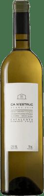 4,95 € Envío gratis | Vino blanco Ca N'Estruc D.O. Catalunya Cataluña España Garnacha Blanca, Moscatel, Macabeo, Xarel·lo Botella 75 cl