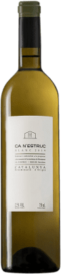 9,95 € Free Shipping | White wine Ca N'Estruc D.O. Catalunya Catalonia Spain Grenache White, Muscatel, Macabeo, Xarel·lo Bottle 75 cl