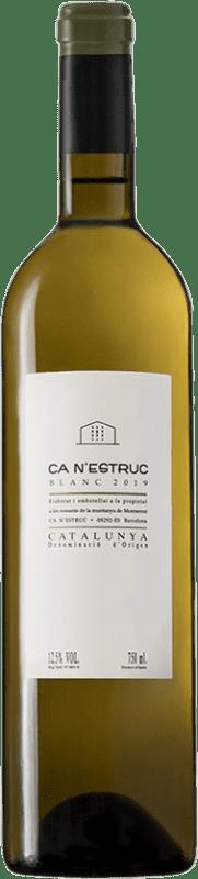 4,95 € Free Shipping | White wine Ca N'Estruc D.O. Catalunya Catalonia Spain Grenache White, Muscat, Macabeo, Xarel·lo Bottle 75 cl