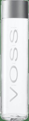 2,95 € Envío gratis | Agua VOSS Water Noruega Media Botella 37 cl