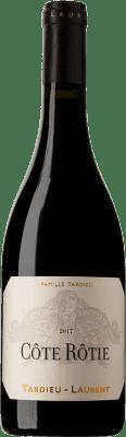 68,95 € Envío gratis | Vino tinto Tardieu-Laurent A.O.C. Côte-Rôtie Francia Syrah, Serine Botella 75 cl