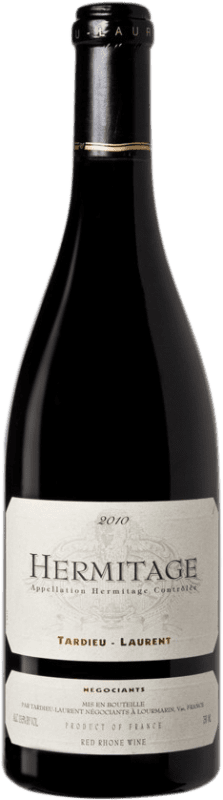 111,95 € Free Shipping | Red wine Tardieu-Laurent 2010 A.O.C. Hermitage France Syrah, Serine Bottle 75 cl