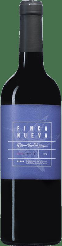 5,95 € Envío gratis | Vino tinto Finca Nueva D.O.Ca. Rioja España Tempranillo Botella 75 cl