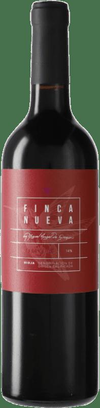 14,95 € Envío gratis | Vino tinto Finca Nueva Reserva D.O.Ca. Rioja España Tempranillo Botella 75 cl