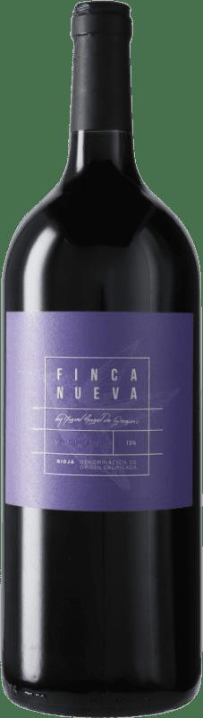 11,95 € Envío gratis | Vino tinto Finca Nueva D.O.Ca. Rioja España Tempranillo Botella Mágnum 1,5 L