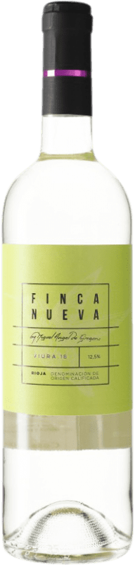 5,95 € Envoi gratuit | Vin blanc Finca Nueva D.O.Ca. Rioja Espagne Viura Bouteille 75 cl