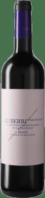 5,95 € Kostenloser Versand | Rotwein Luberri D.O.Ca. Rioja Spanien Flasche 75 cl