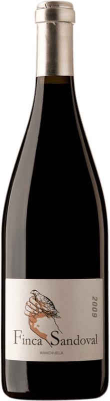 25,95 € Free Shipping | Red wine Finca Sandoval D.O. Manchuela Castilla la Mancha Spain Syrah, Monastrell, Bobal Bottle 75 cl