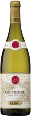 57,95 € Free Shipping | White wine Domaine E. Guigal A.O.C. Condrieu France Bottle 75 cl