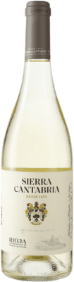 15,95 € Free Shipping | White wine Sierra Cantabria D.O.Ca. Rioja Spain Viura, Malvasía, Sauvignon White Bottle 75 cl