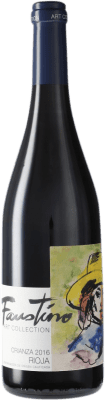 4,95 € Free Shipping | Red wine Faustino Crianza D.O.Ca. Rioja Spain Tempranillo Bottle 75 cl
