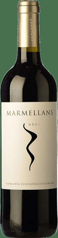 4,95 € Envío gratis | Vino tinto Capçanes Marmellans Negre Joven D.O. Montsant Cataluña España Garnacha, Cabernet Sauvignon, Cariñena Botella 75 cl