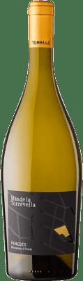 16,95 € Free Shipping | White wine Torelló Mas de la Torrevella D.O. Penedès Catalonia Spain Chardonnay Bottle 75 cl