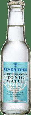 1,95 € Envío gratis | Refrescos Fever-Tree Mediterranean Tonic Water Reino Unido Botellín 20 cl