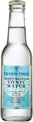 1,95 € Free Shipping | Refreshment Fever-Tree Mediterranean Tonic Water United Kingdom Small Bottle 20 cl