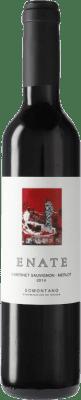 4,95 € Envío gratis | Vino tinto Enate Merlot-Cabernet Sauvignon D.O. Somontano Cataluña España Merlot, Cabernet Sauvignon Botella Medium 50 cl