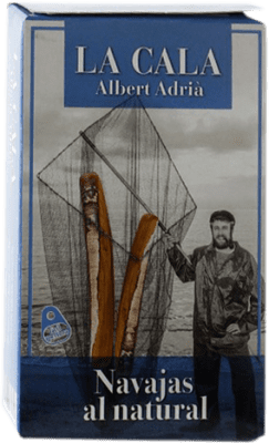 13,95 € Kostenloser Versand | Conservas de Marisco La Cala Navajas al Natural Spanien 6/8 Stücke
