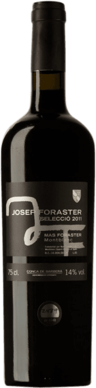 23,95 € Free Shipping | Red wine Josep Foraster Negre Selecció D.O. Conca de Barberà Catalonia Spain Tempranillo, Cabernet Sauvignon Bottle 75 cl