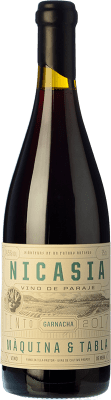 19,95 € Free Shipping | Red wine Máquina & Tabla Nicasia D.O. Toro Castilla y León Spain Tempranillo, Grenache Bottle 75 cl