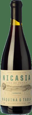 25,95 € Kostenloser Versand | Rotwein Máquina & Tabla Nicasia D.O. Toro Kastilien und León Spanien Tempranillo, Grenache Flasche 75 cl