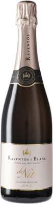 21,95 € Free Shipping | Rosé sparkling Raventós i Blanc Nit Rosat Catalonia Spain Monastrell, Macabeo, Xarel·lo, Parellada Bottle 75 cl