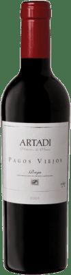 39,95 € Free Shipping   Red wine Artadi Pagos Viejos D.O. Navarra Navarre Spain Tempranillo, Viura Half Bottle 37 cl