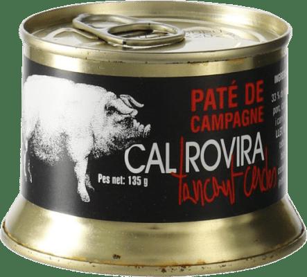 4,95 € Envío gratis | Foie y Patés Cal Rovira Paté de Campagne España