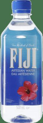 3,95 € Envío gratis | Agua Fiji Artesian Water PET Fiyi Botella Medium 50 cl
