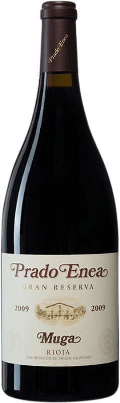 96,95 € Envoi gratuit | Vin rouge Muga Prado Enea Gran Reserva 2009 D.O.Ca. Rioja Espagne Tempranillo, Grenache, Graciano, Mazuelo Bouteille Magnum 1,5 L
