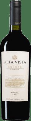 12,95 € Kostenloser Versand | Rotwein Altavista Premium I.G. Mendoza Mendoza Argentinien Malbec Flasche 75 cl