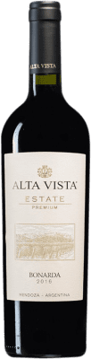 12,95 € Free Shipping | Red wine Altavista Premium I.G. Mendoza Mendoza Argentina Bonarda Bottle 75 cl