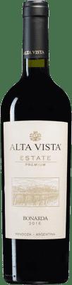 12,95 € Kostenloser Versand | Rotwein Altavista Premium I.G. Mendoza Mendoza Argentinien Bonarda Flasche 75 cl