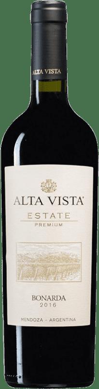 12,95 € Envío gratis | Vino tinto Altavista Premium I.G. Mendoza Mendoza Argentina Bonarda Botella 75 cl