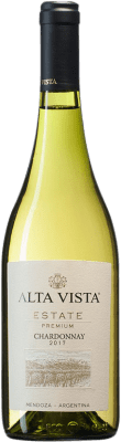 12,95 € Envío gratis | Vino blanco Altavista Premium I.G. Mendoza Mendoza Argentina Chardonnay Botella 75 cl