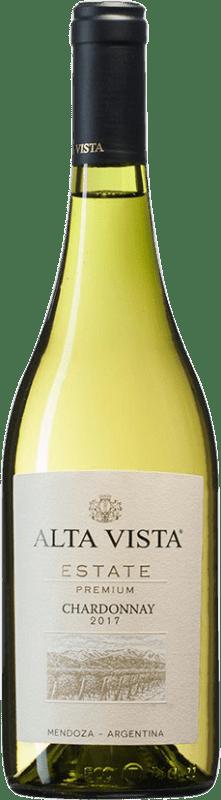 12,95 € Free Shipping | White wine Altavista Premium I.G. Mendoza Mendoza Argentina Chardonnay Bottle 75 cl
