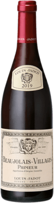 8,95 € Free Shipping | Red wine Louis Jadot Primeur A.O.C. Beaujolais-Villages Burgundy France Gamay Bottle 75 cl