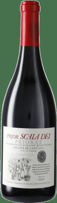 19,95 € Free Shipping | Red wine Scala Dei Prior Crianza D.O.Ca. Priorat Catalonia Spain Syrah, Grenache, Cabernet Sauvignon, Carignan Bottle 75 cl