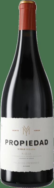 51,95 € Envío gratis | Vino tinto Palacios Remondo Propiedad D.O.Ca. Rioja España Garnacha Botella Mágnum 1,5 L