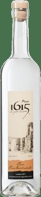 19,95 € Envío gratis | Pisco Pisco 1615 Puro Quebranta Perú Botella 70 cl