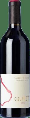 39,95 € Kostenloser Versand | Rotwein Castell d'Encús Quest D.O. Costers del Segre Spanien Cabernet Sauvignon, Cabernet Franc, Petit Verdot Flasche 75 cl