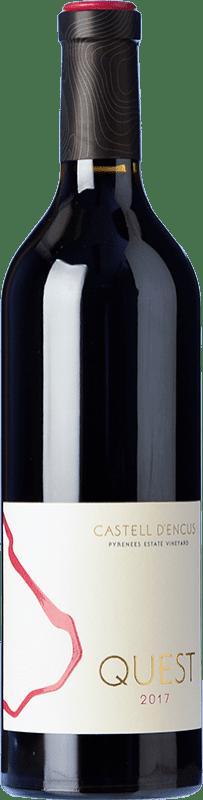 39,95 € Free Shipping | Red wine Castell d'Encús Quest D.O. Costers del Segre Spain Cabernet Sauvignon, Cabernet Franc, Petit Verdot Bottle 75 cl