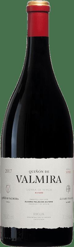 1 278,95 € Envío gratis | Vino tinto Palacios Remondo Quiñón de Valmira D.O.Ca. Rioja España Garnacha Botella Mágnum 1,5 L