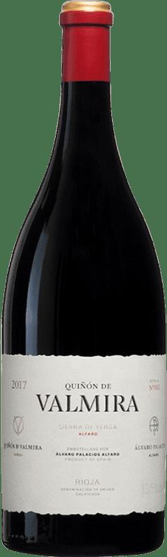 1 609,95 € Envío gratis | Vino tinto Palacios Remondo Quiñón de Valmira D.O.Ca. Rioja España Garnacha Botella Jéroboam-Doble Mágnum 3 L