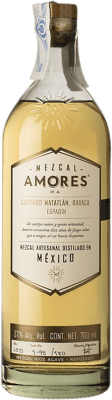 48,95 € Kostenloser Versand | Mezcal Amores Reposado Espadín Mexiko Flasche 70 cl