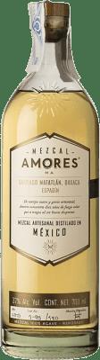 48,95 € Envoi gratuit | Mezcal Amores Reposado Espadín Mexique Bouteille 70 cl