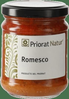 5,95 € Envío gratis | Salsas y Cremas Priorat Natur Romesco España